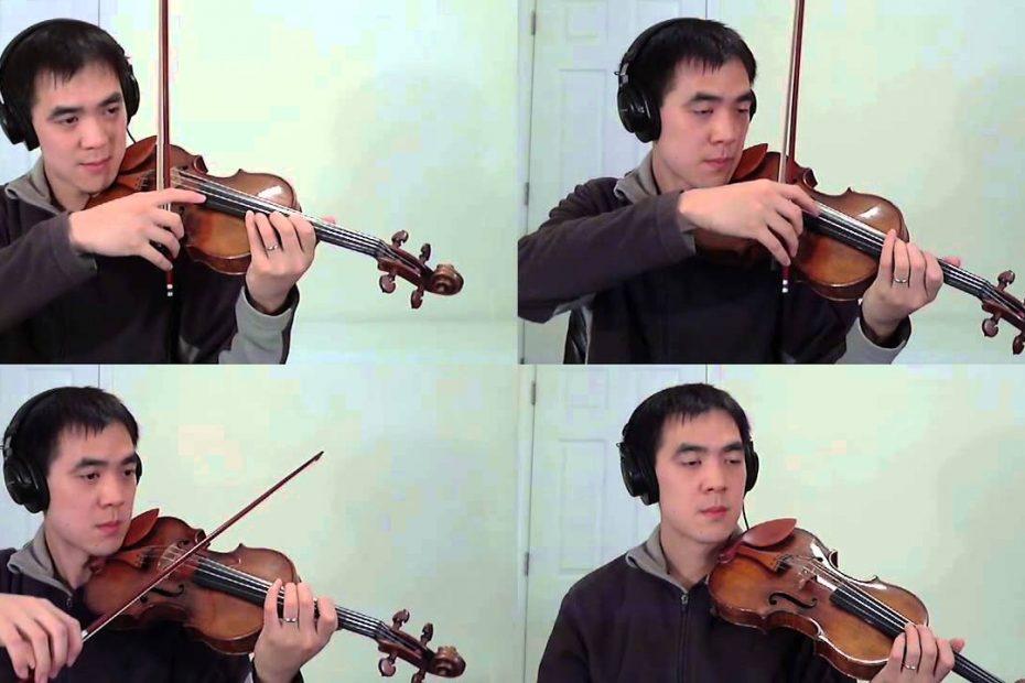 String Quartet Violin Wind Scene: Chrono Trigger